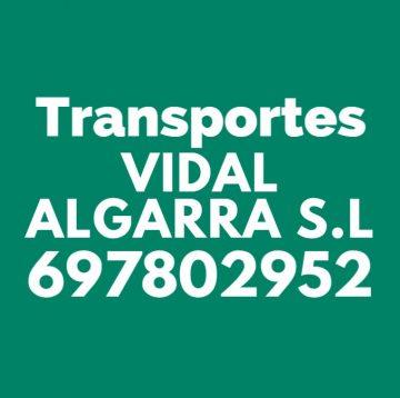 TRANSPORTES VIDAL ALGARRA S.L